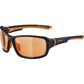 Alpina Lyron VL Glasses black matt-orange